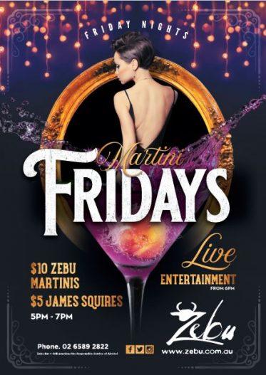 Martini Fridays