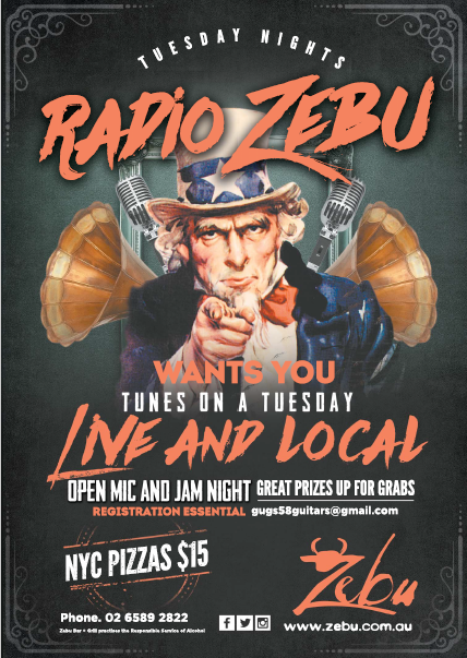 Radio Zebu –  Tuesday Nights